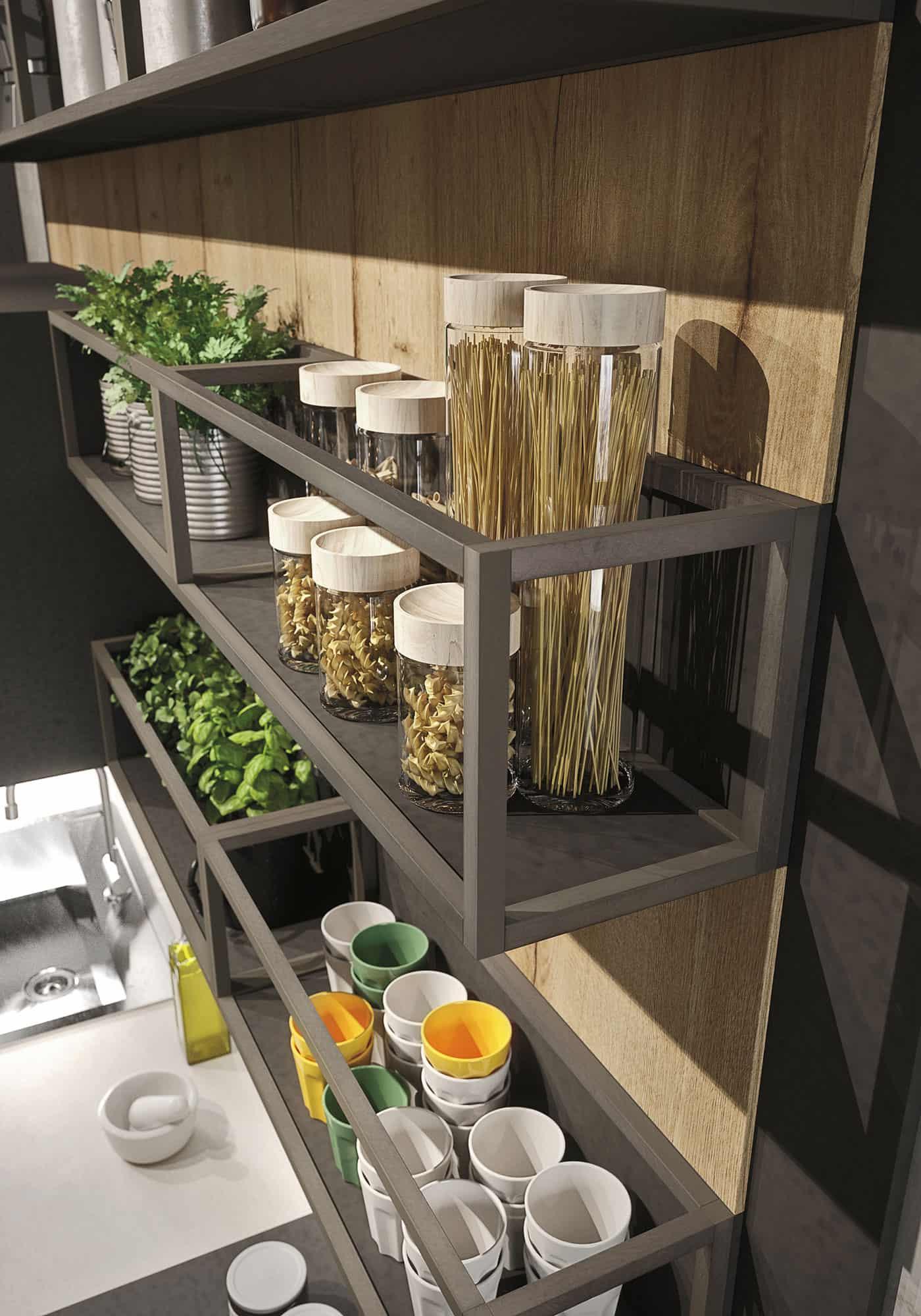 Kitchen Design For Lofts 3 Urban Ideas From Snaidero