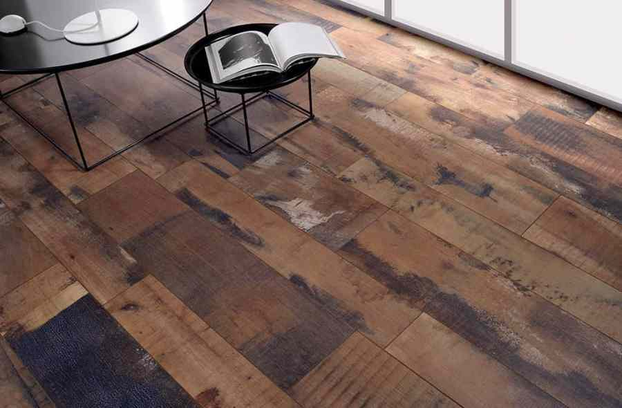 Wood Effect Tiles for Floors and Walls  30 Nicest Porcelain and     Using Fioranese recycled wood effect tiles in a living room setting keeps  the space cozy with the warmth of wood but offers the easy maintenance of
