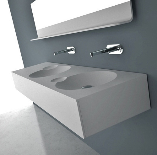 Interesting Bathroom Vanity Sink by DNA