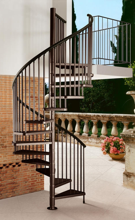 House Staircase Design Guide 5 Modern Designs For Every Occasion | Modern Staircase Design Outside Home | Msmedia | Stair Case | Spiral Staircase | Decorative Wrought | Iron Railings