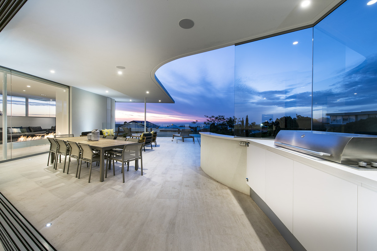 L Shaped Modern Kitchen Design