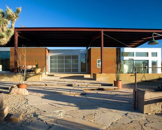 Sustainable Desert House Design Recycled Reused And