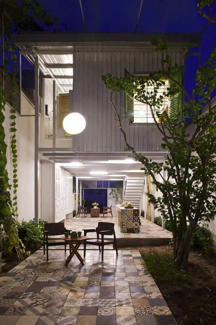 Industrial Steel Stilt House With Open Main Level