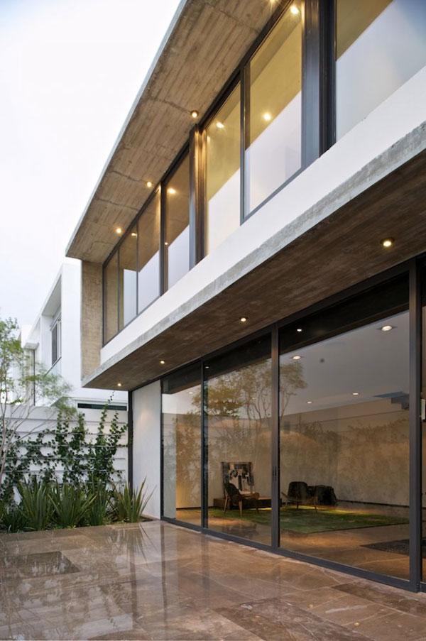 Interesting House Facade For Modern Mexico Design