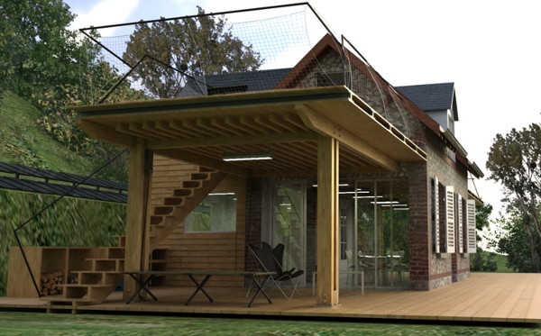 Eco House Design Is Heavenly Complete With Quot Wings Quot