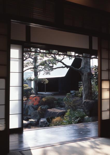 Modern Japanese Tea House Sheet Metal Architecture In Japan