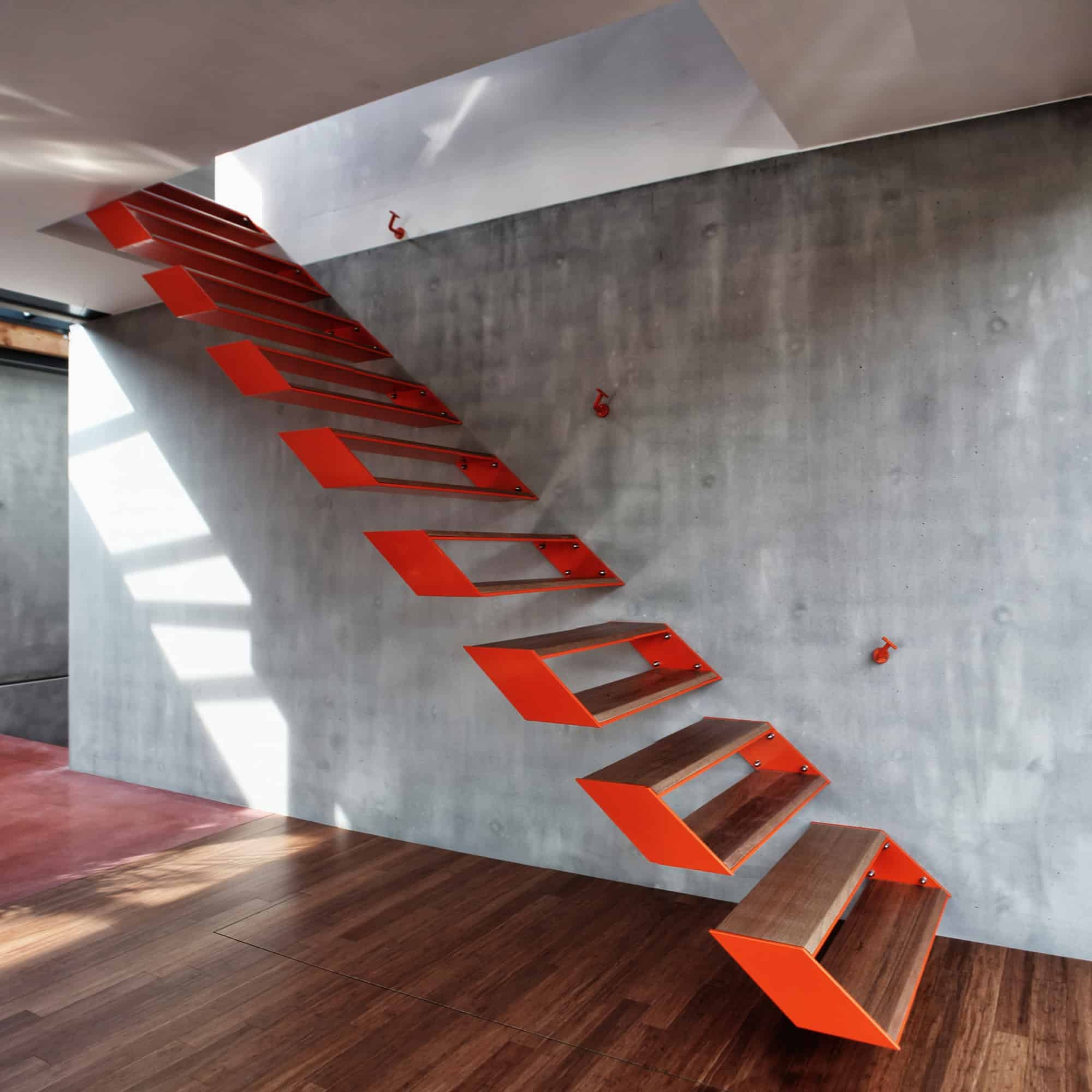 Modern Steel Staircase Design   Steel Steps For Stairs   Chequer Plate   Fabricated   Wire Mesh   Prefabricated   Corrugated Metal