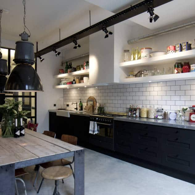 Industrial Style Kitchen Design Ideas  Marvelous Images  Amsterdam Industrial Kitchen