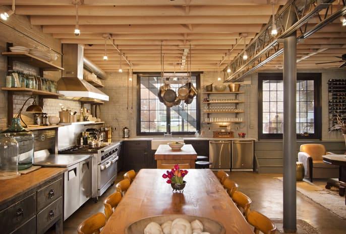 Industrial Style Kitchen Design Ideas Marvelous Images