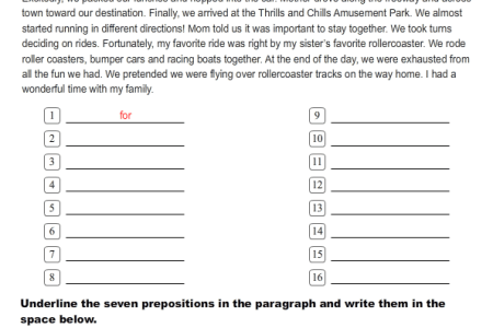 Sample Short Story With Prepositions 4k Pictures 4k Pictures