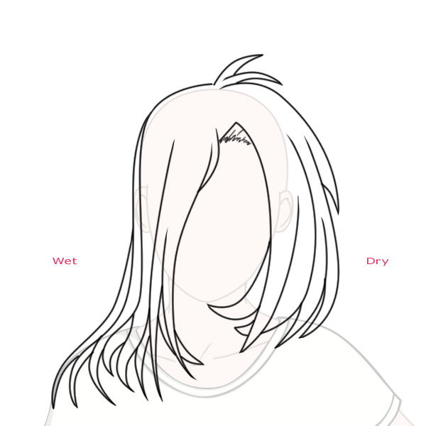 Create Big Gravity Defying Anime-Styled Hair in Adobe ...