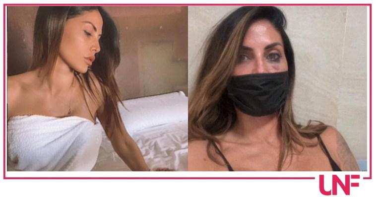 Guendalina Tavassi vittima di aggressione conferma tutto
