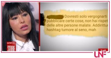 Carolina Marconi, a Storie Italiane il suo coraggio che emoziona Eleonora Daniele