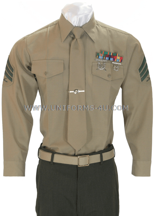 Marine Corps Shooting Badge Placement