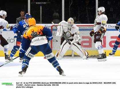 Ice Hockey – Ge / Servette continues to be too gentle