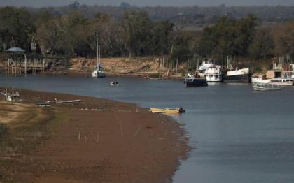 South America: the Panama River could by no means regain its previous exuberance