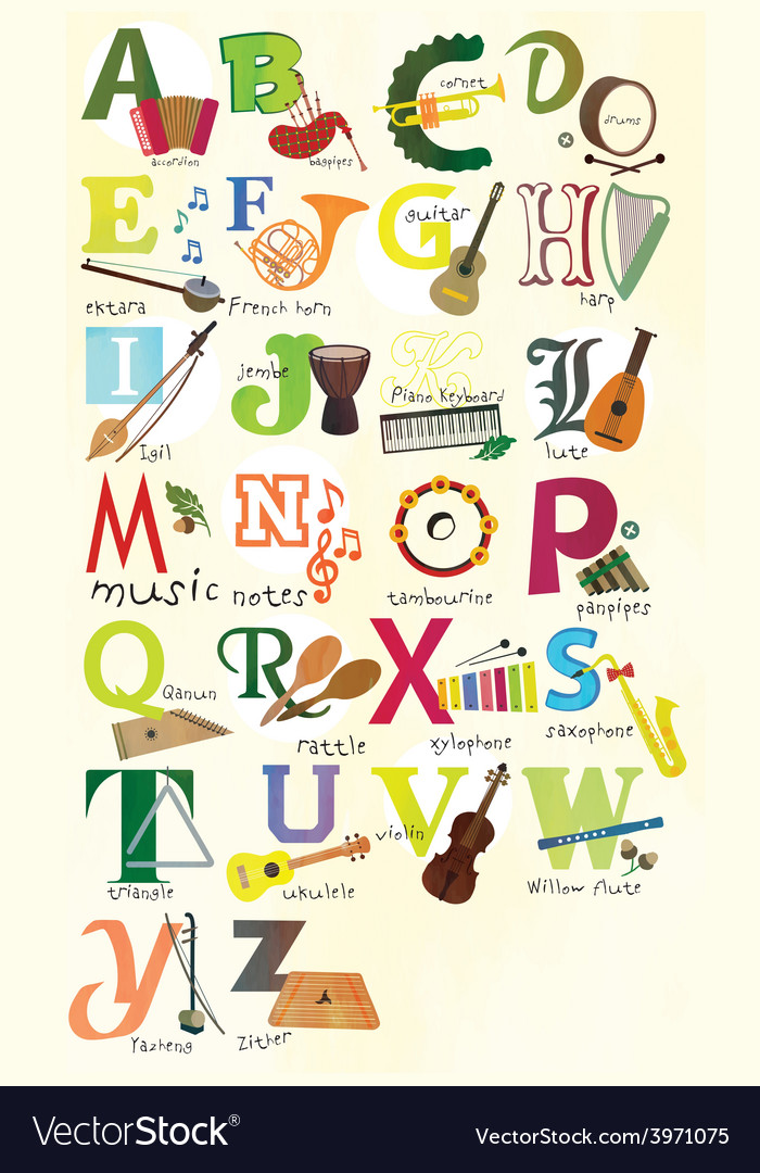 Single Alphabet Print Letters