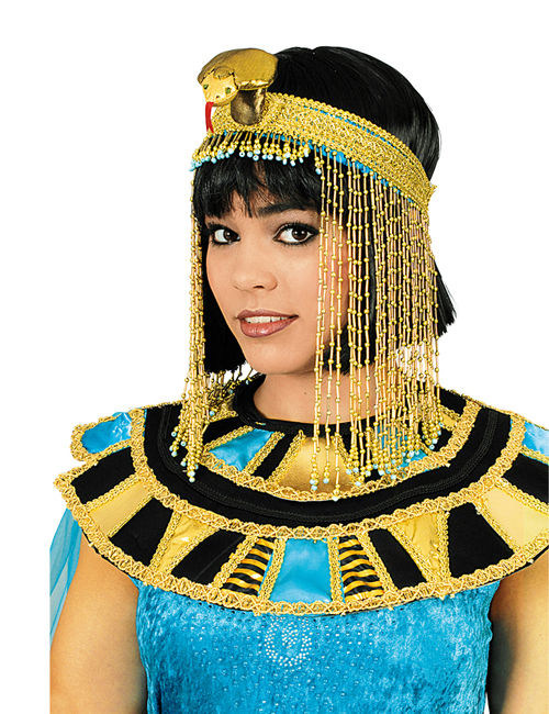 Copricapo Da Cleopatra Dorato Per Donna Cappelli E
