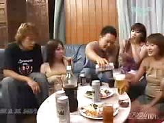 Japanese Swinger Party Asian group sex japanese