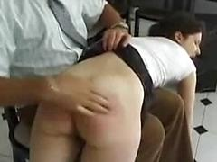 Old Man Is Turned On By Spanking Naked Teen Girls Old man old+young spanking
