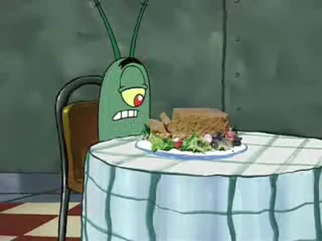 Spongebob And Plankton Love