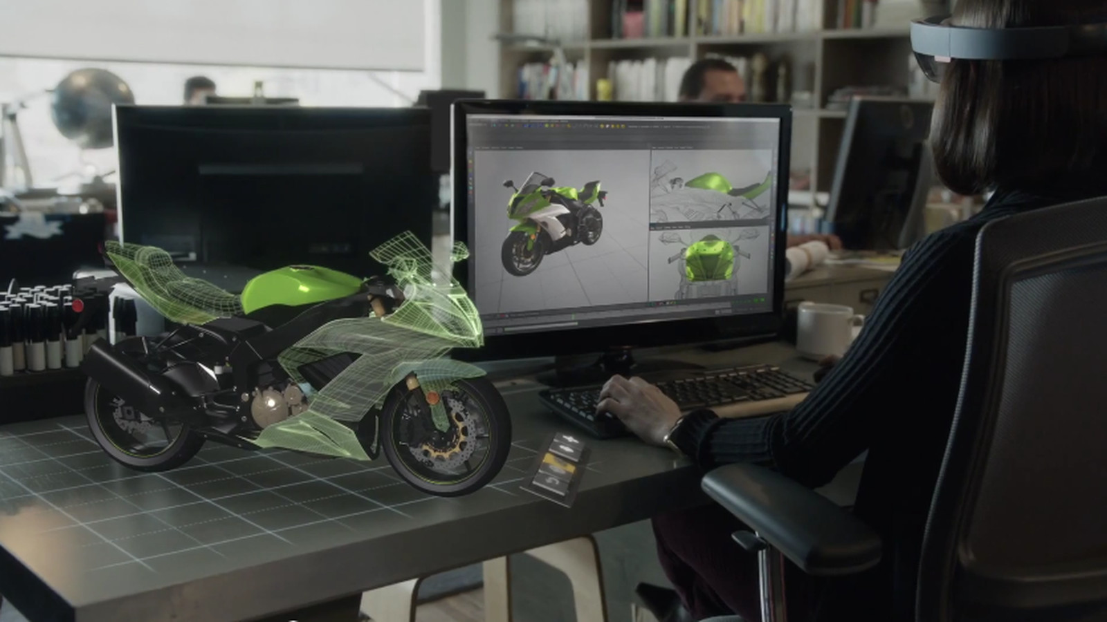 Microsoft S Hololens Team Is Obsessed With Motorcycles