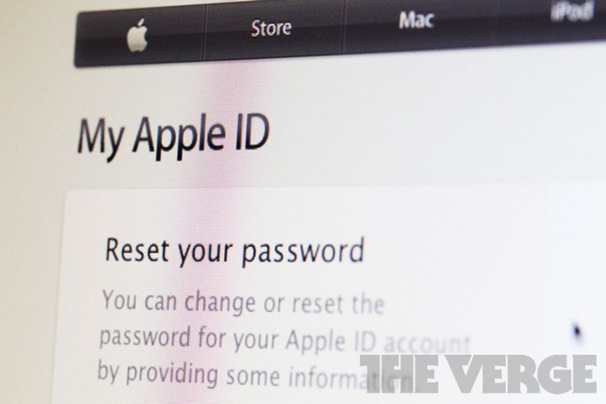 Major security hole allows Apple passwords to be reset with only     Apple ID