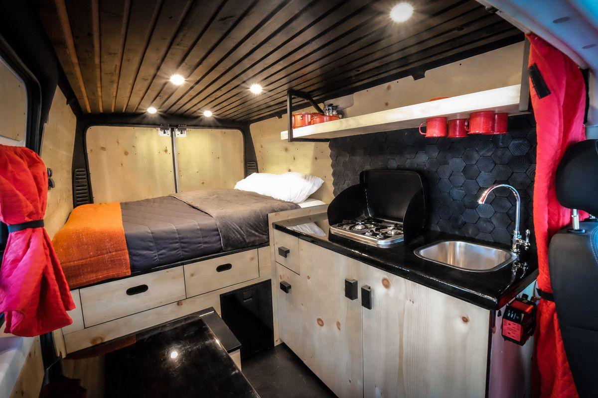 Dodge Caravan Camper Interior