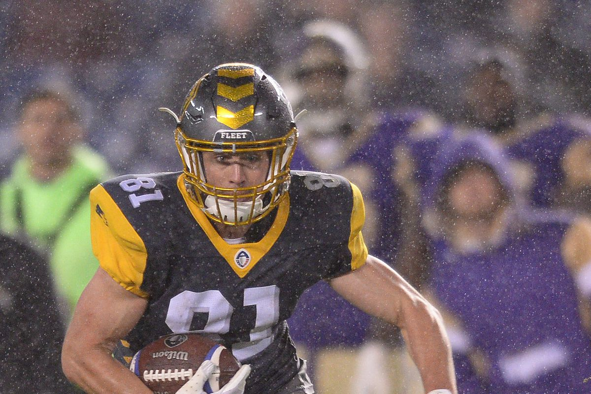 Buffaloes Wr Nelson Spruce Starring With Aaf San Diego