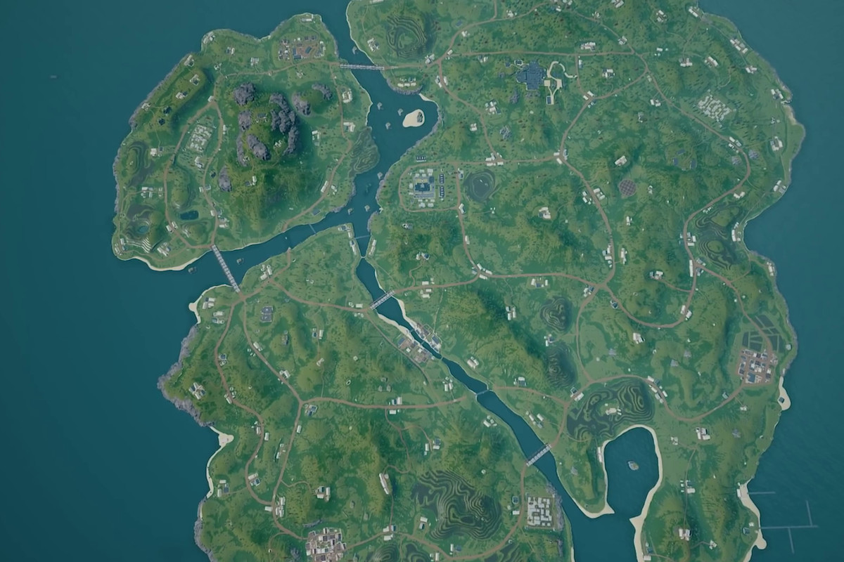 The newest PUBG map could solve the game s esports struggles   Polygon PUBG might be getting very weird