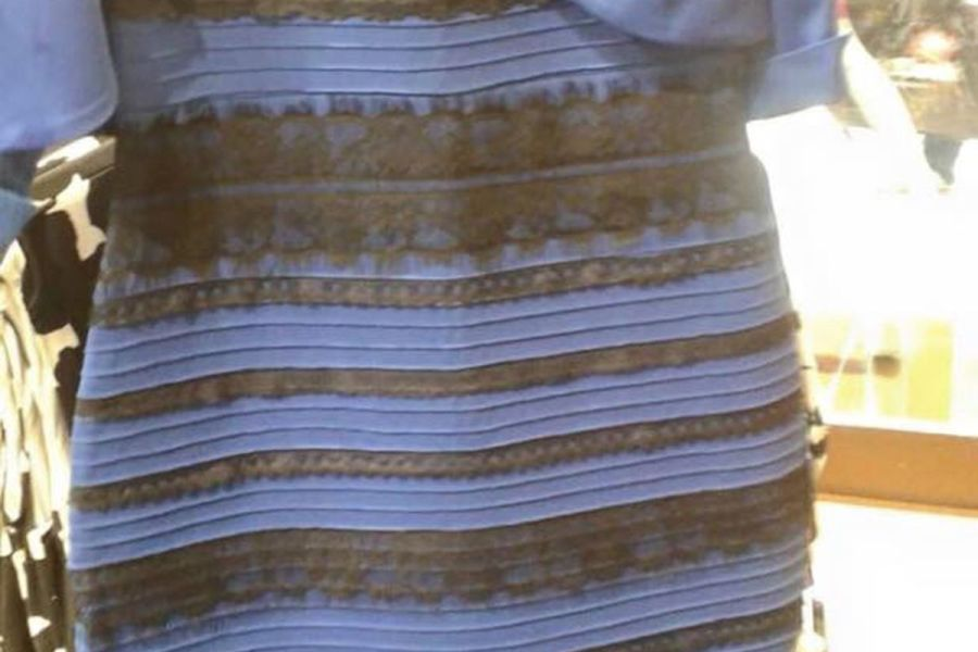 The science behind that absurd color changing dress  explained   Vox Swiked Tumblr