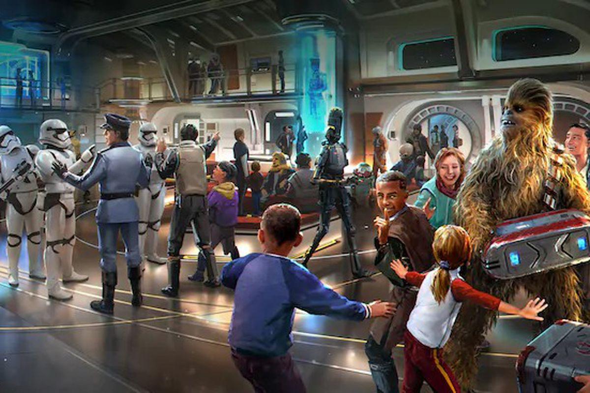 Chewbacca Star Wars Background