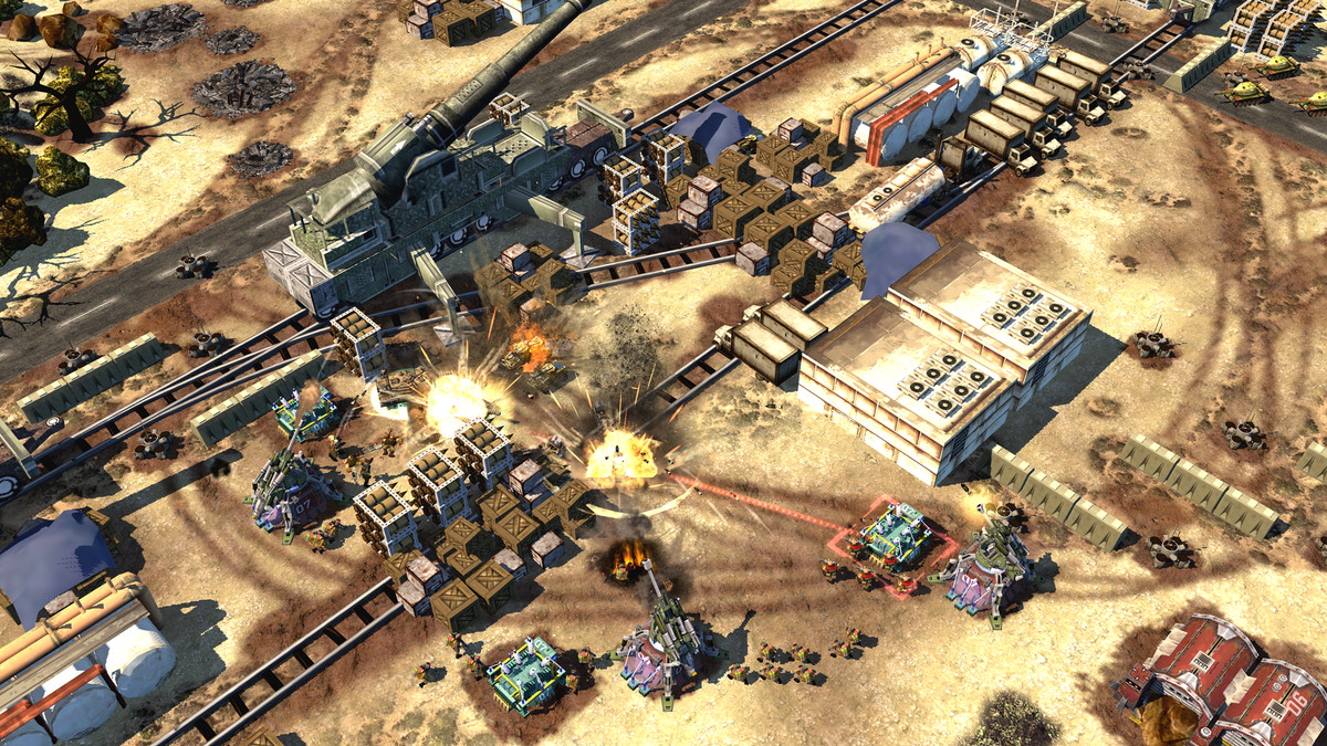 Command   Conquer vet launches new mobile RTS today   Polygon A desert battle scene in War Commander  Rogue Assault