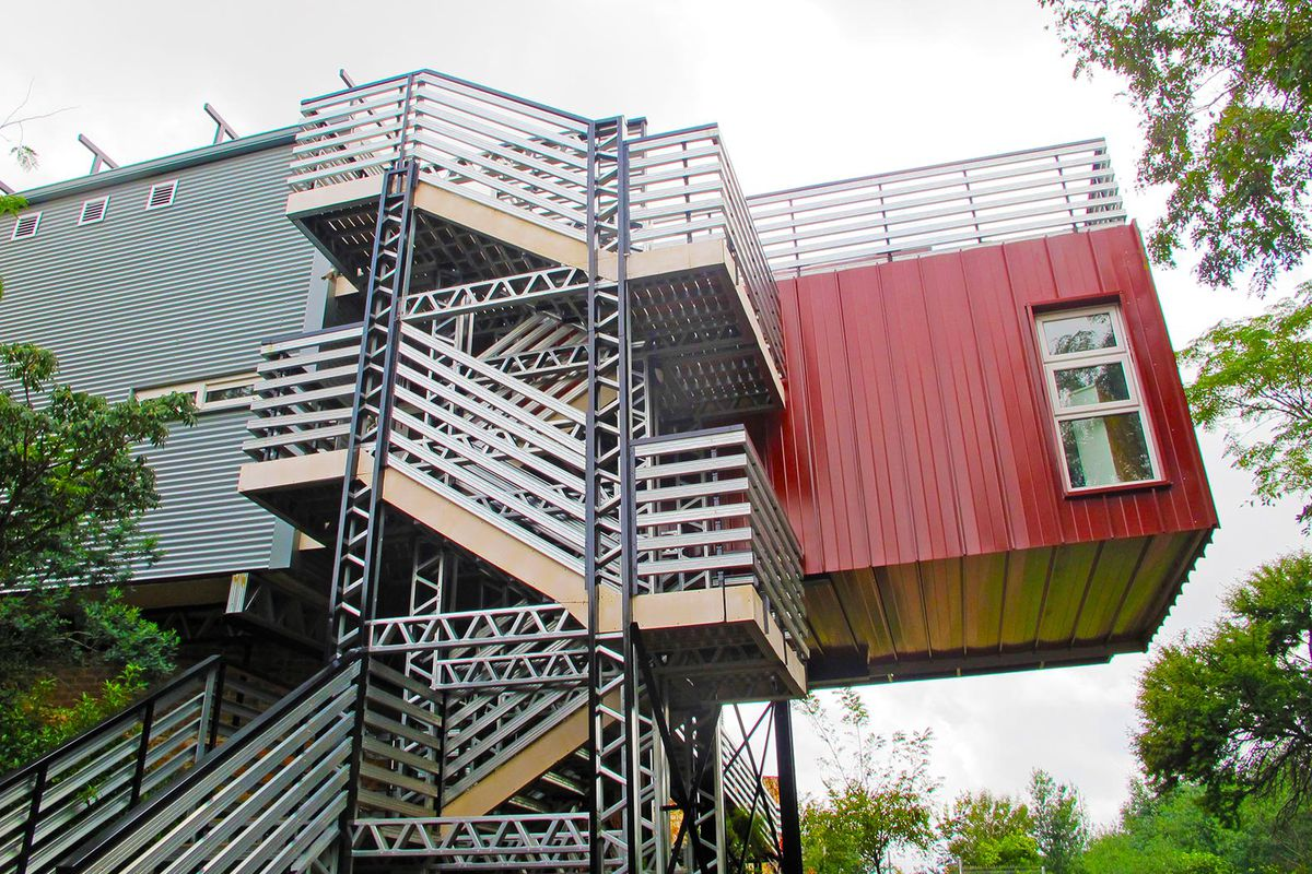 Best Kitchen Gallery: Shipping Containers Repurposed For Off Grid Home In South Africa of Off Grid Shipping Container Homes  on rachelxblog.com