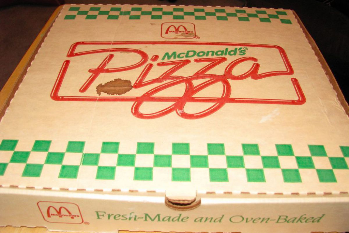 Mcdonald S Is Still Serving Pizza At Exactly Two