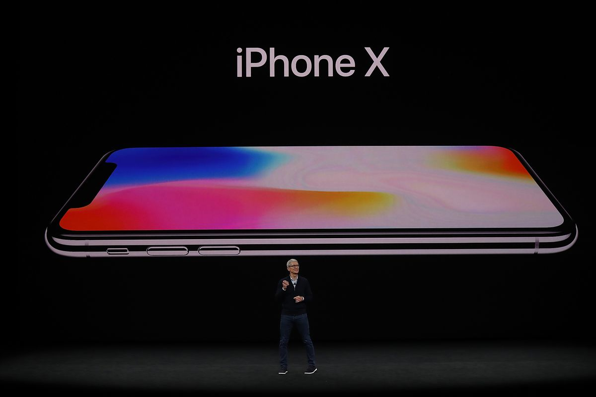 Apple iPhone X  What Apple s  1 000 phone will cost you per month     Photo by Justin Sullivan Getty Images