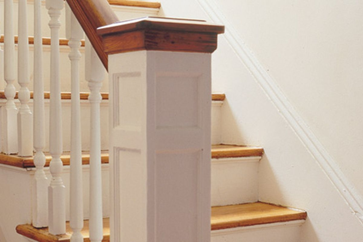 How To Replace A Baluster This Old House | Cost To Refinish Handrail | Hardwood Stairs | Wrought Iron | Interior | Stair Treads | Refinishing Hardwood Floors
