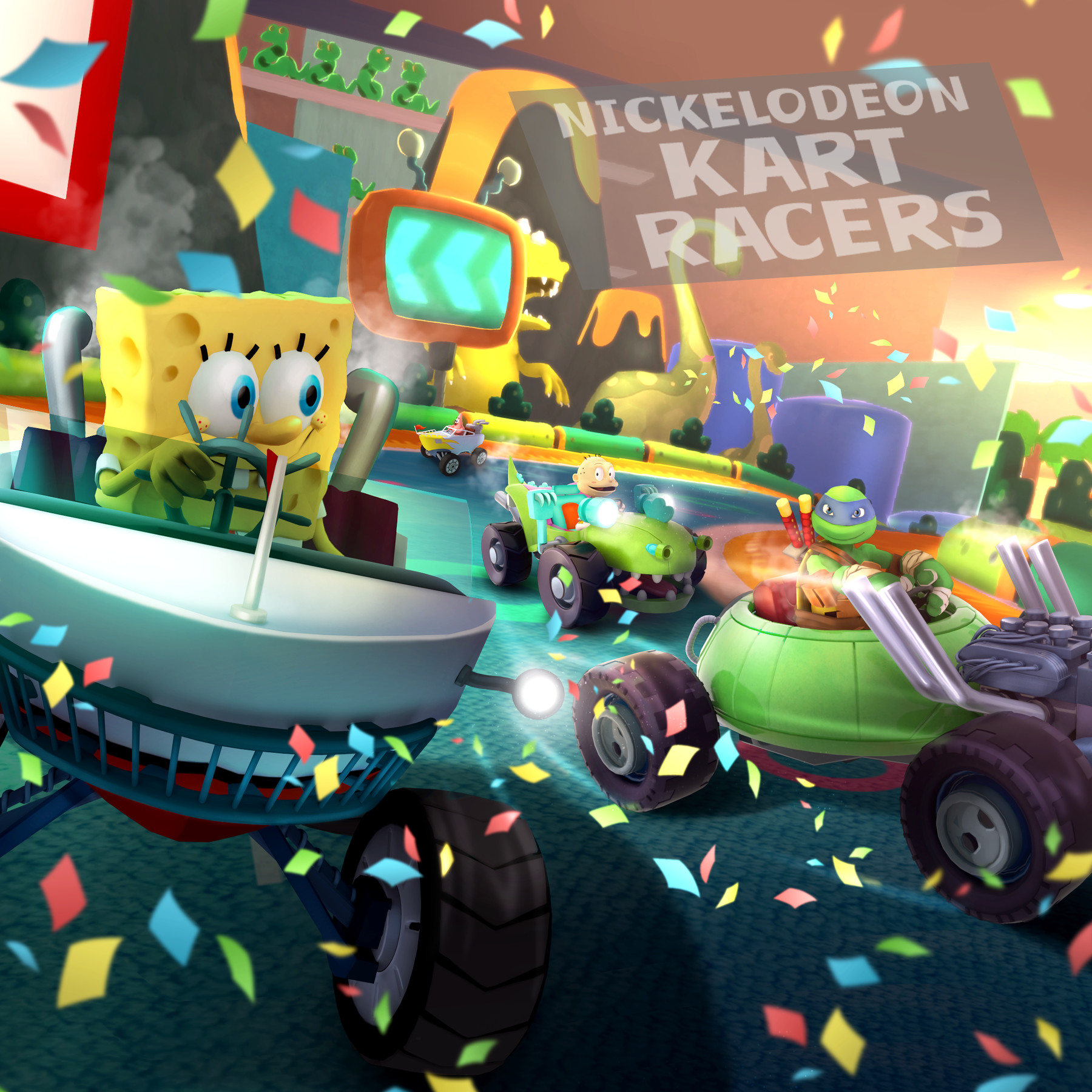 Nickelodeon Kart Racers reunites classic cartoons on consoles this     Nickelodeon Kart Racers reunites classic cartoons on consoles this fall    Polygon