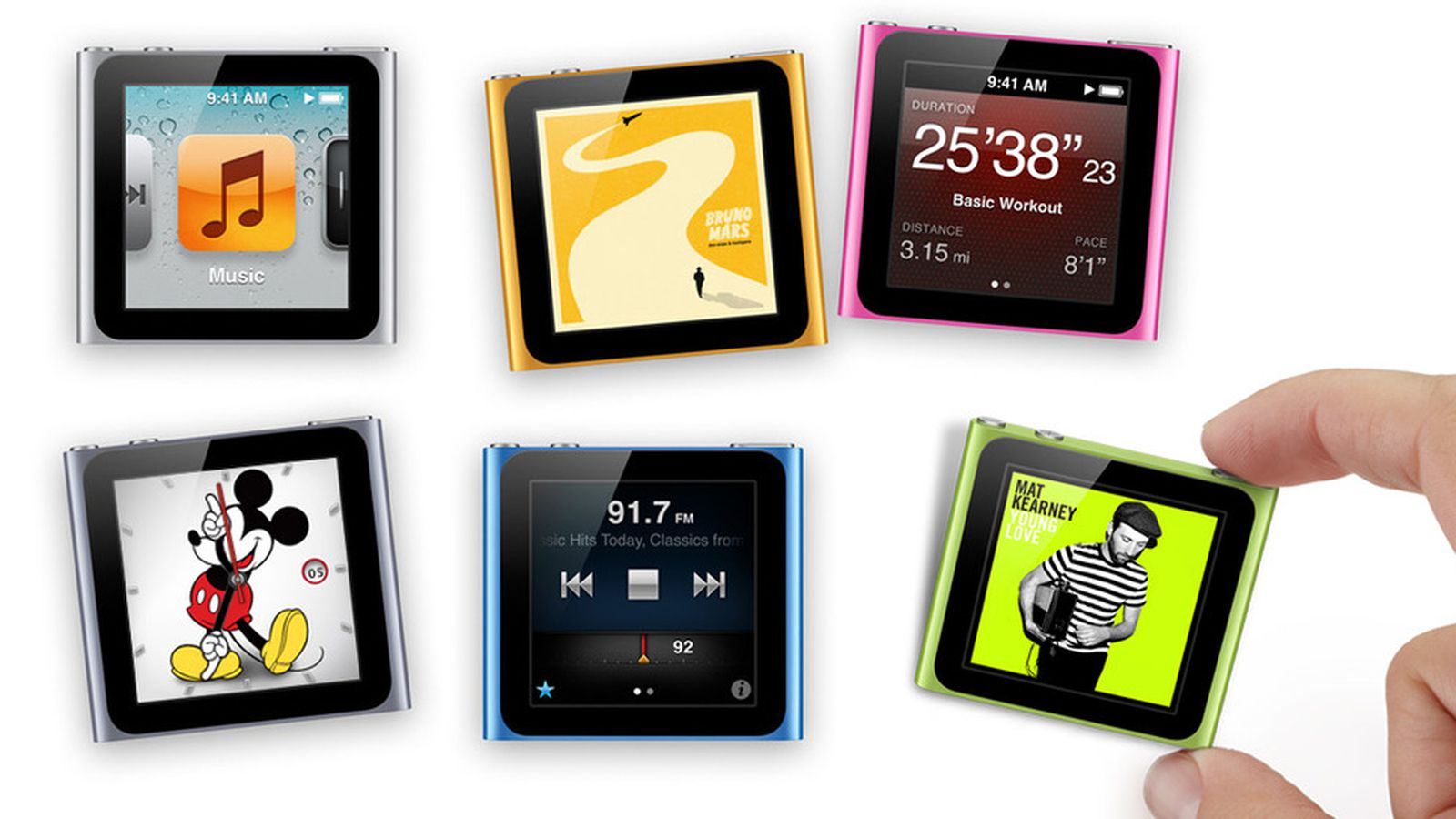 2 1 Version 6th Ipod Apple Nano Generation