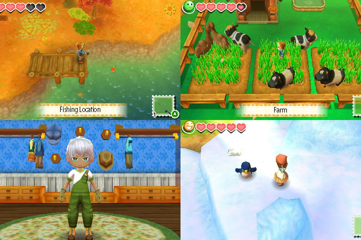 New Harvest Moon game  Story of Seasons  coming to 3DS this winter     The latest Harvest Moon game is being localized into English as Story of  Seasons  and it will be released on Nintendo 3DS in North America this  winter