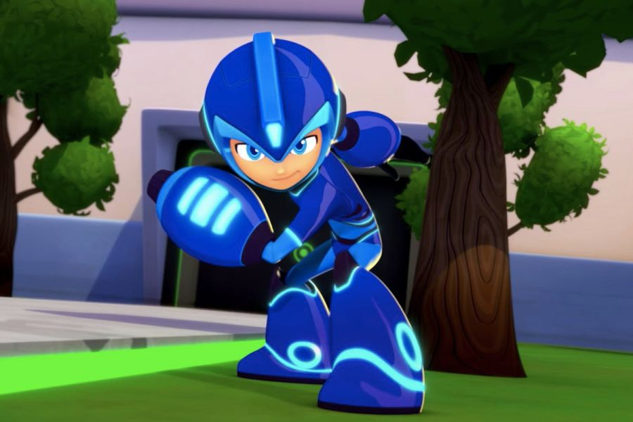 The new Mega Man cartoon is now available online   Polygon Cartoon Network Capcom