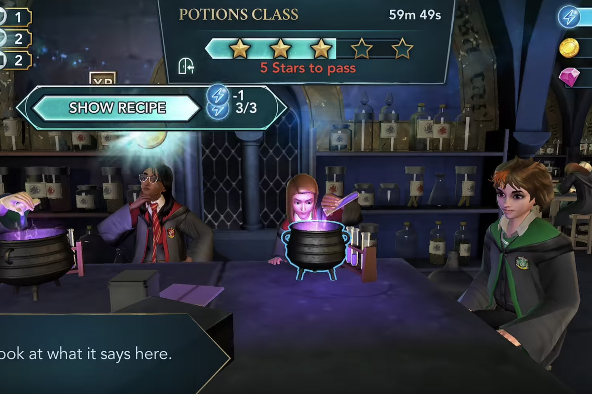 Harry Potter looks to mobile gaming s past  while Fortnite looks to     Harry Potter  Hogwarts Mystery  a newly released mobile game set in JK  Rowling s magical universe  is not inherently a bad game