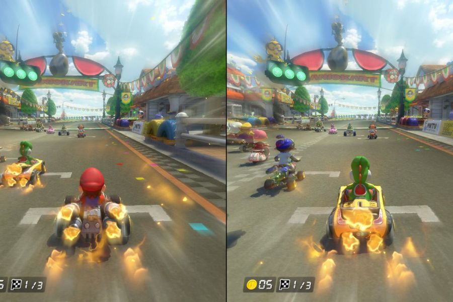 Mario Kart is the first game to make good on the Switch s biggest     When