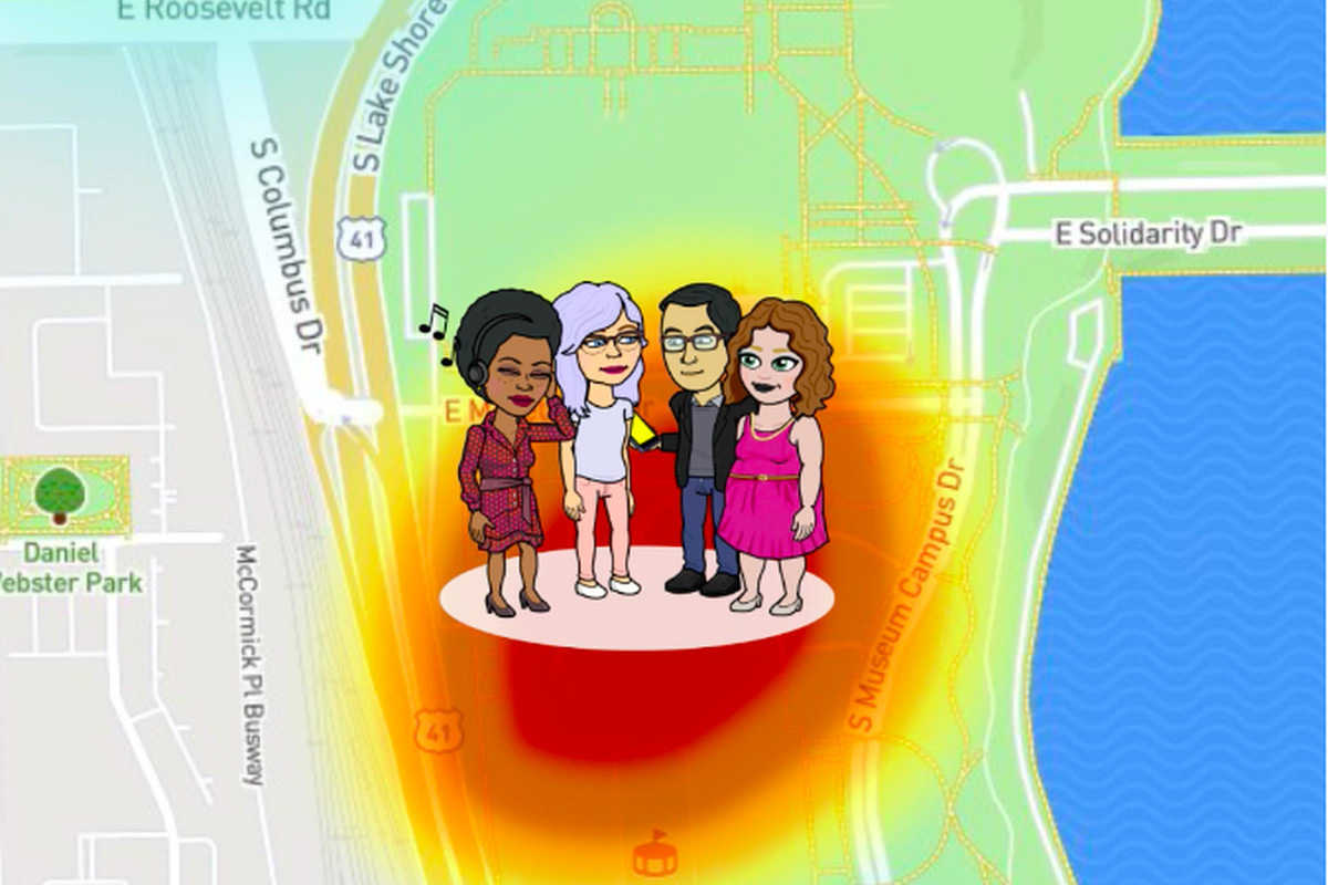 Snapchat s Map Explore feature will let you know when your friends     Image  Snap