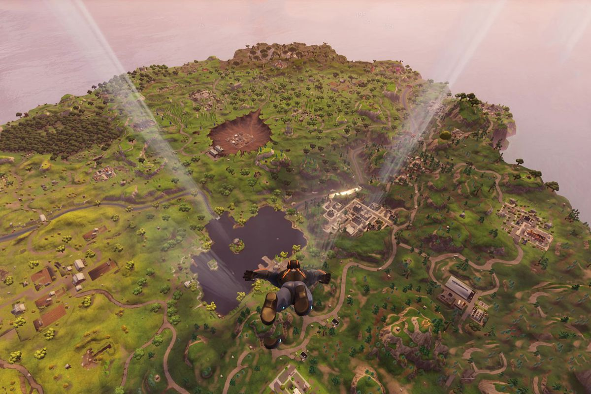 Fortnite Battle Royale challenge guide  Follow the treasure map     Epic Games via Polygon
