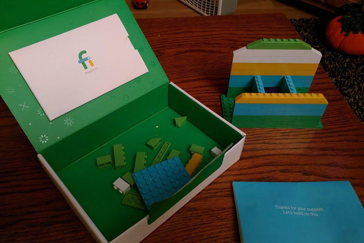Google is sending out this cool little Lego kit to Project Fi     Google s Project Fi is an interesting twist on standard cell phone service   one that s full of promise     and it also comes with some surprisingly  unique