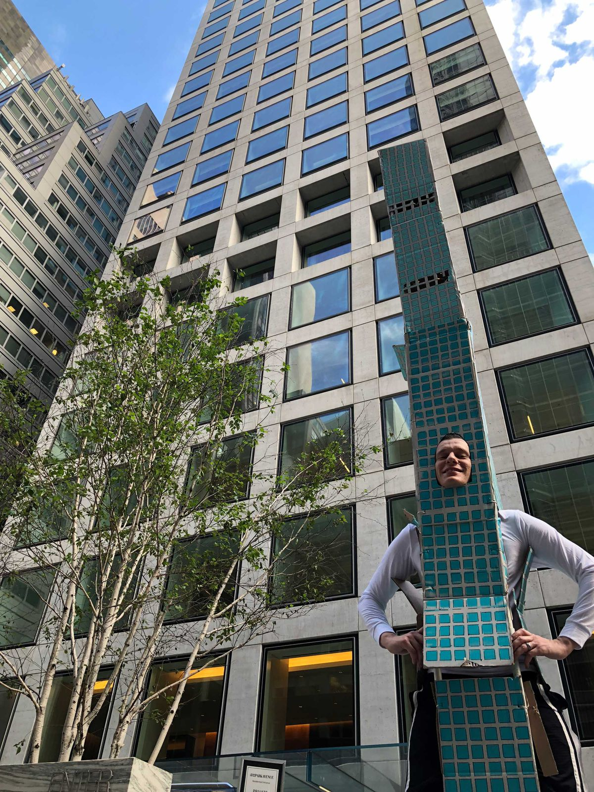This Guy Dressed As 432 Park Avenue Won Halloween Curbed Ny