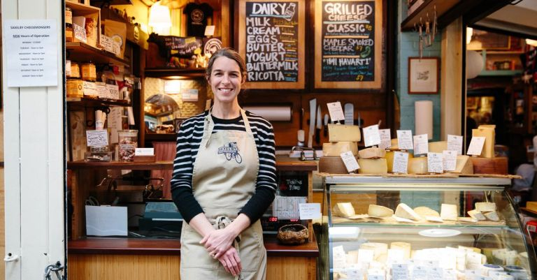 Anne Saxelby, of Saxelby Cheesemongers, Dies at 40