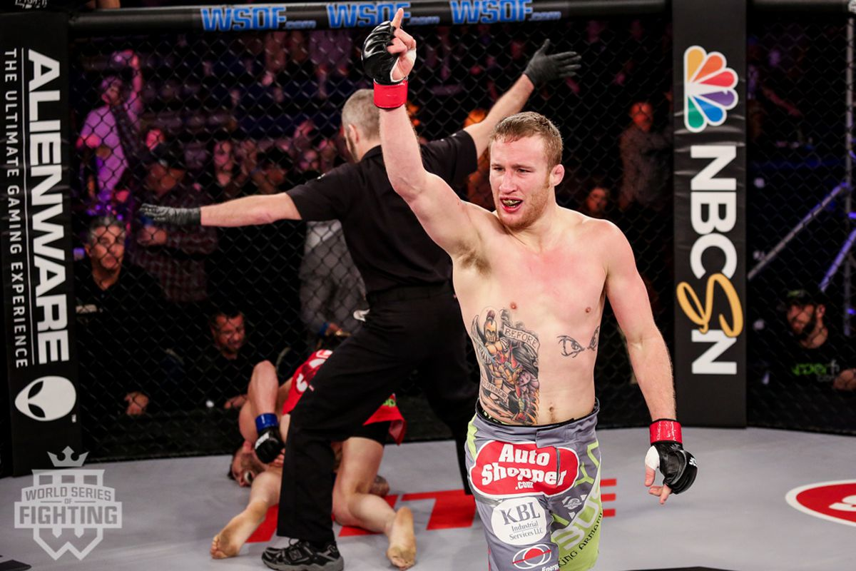 Justin Gaethje Set To Make Ufc Debut Against Michael Johnson At Tuf 25 Finale Mma Fighting