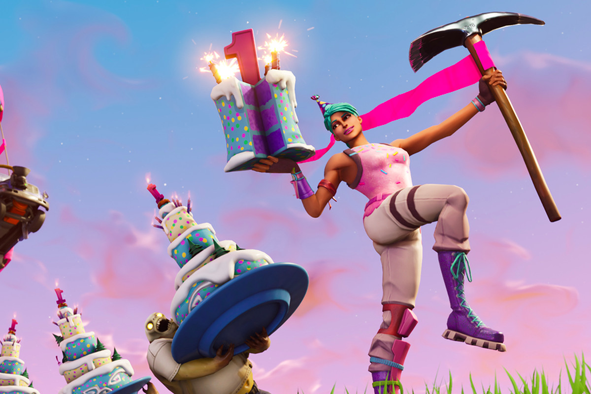 Fortnite celebrates its first birthday with mini games  cake  and     Has it really only been a year since bubblegum battle royale took over the  world  To commemorate the occasion  developer Epic Games has launched a  Fortnite
